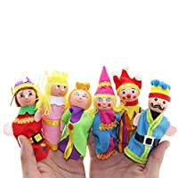 Clearance Sale!DEESEE(TM)6PCS Finger Toys Hand Puppets Christmas Gift Refers To Accidentally