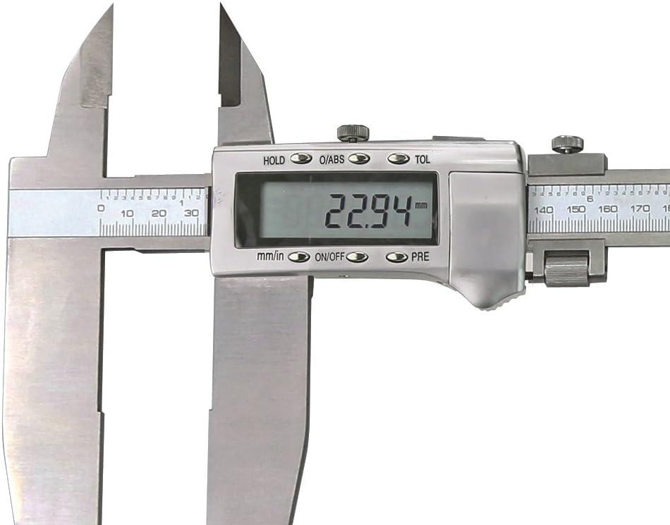 CNC QUALIT/ÄT Digital-Werkstatt-Messschieber mit Spitzen 600 mm