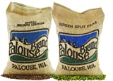 Non-GMO Project Verifed USA Grown 10 Lb Bean Pack (5 LBS Pardina Lentils and 5 LBS Green Split Peas)   Identity Preserved (We Tell You Which Field We Grew It In)