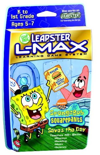 Leapster L-MAX SW Game: Sponge (Leapfrog Leapster L-max Learning Game System)