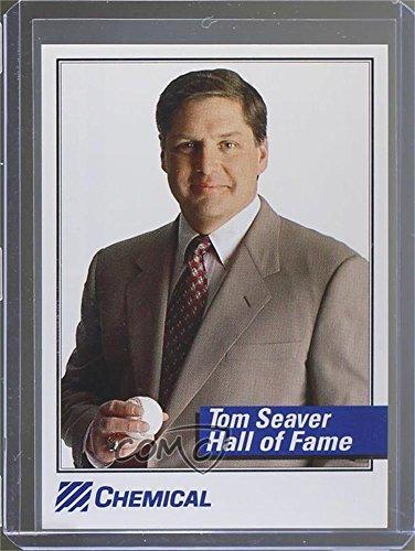 Tom Seaver  Baseball Card  1993 Chemical Bank Tom Seaver    Base   Tose