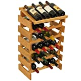 20-Bottles Wine Rack