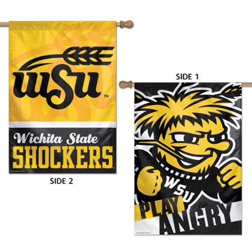 NCAA 2 Sided Vertical Flag product image