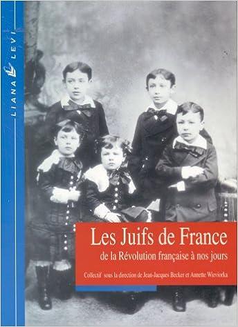 Lire un Les Juifs de France de la Révolution française à nos jours pdf