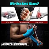 Liberlupus 120''/180'' Boxing Hand Wraps for Men