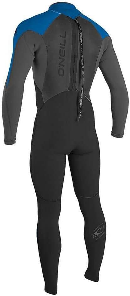 ONeill Mens Epic 5//4mm Back Zip Wetsuit Black Graphite Ocean