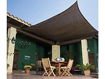 Beau Frilivin Shade Sail 75% UV Block Mesh Net Plant Cover Outdoor Garden Canopy  Awning Dark