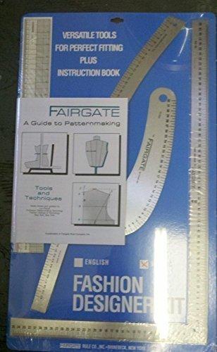 Fairgate Fashion Designer Rule Kit in Cm (15-202) by Fairgate by Fairgate