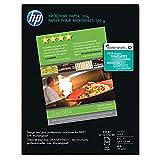 HP C6817A Brochure Inkjet Paper,48 Lb,8-1/2''x11'',89GE/100 ISO,50/PK,WE