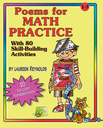 Poems for Math Practice with 80 Skill-Building Activities, Grades 1-3