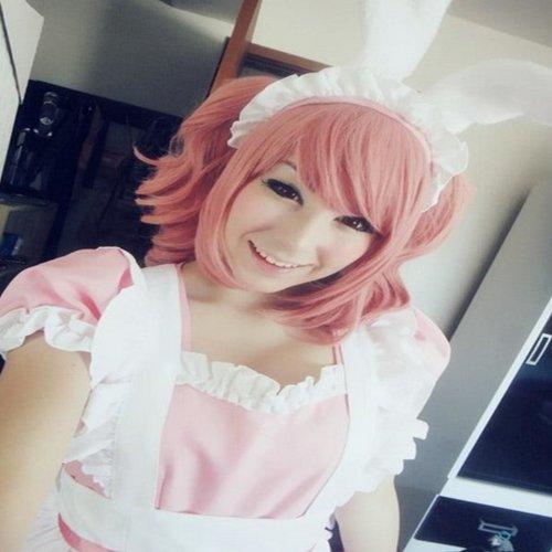 Inu x Boku SS Secret Service Roromiya Karuta Cosplay Costume Wig