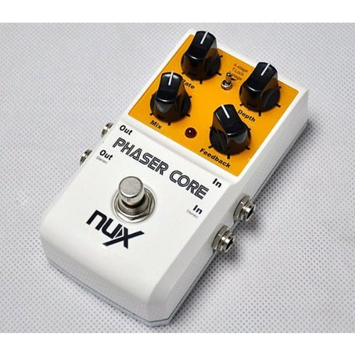 Anysun@ NUX Stomp Boxes Phaser Core 4 - Stage and Tape 8-stage Core Series Guitar Effect Pedal True Bypass Musical Instrument by KA GROUPS