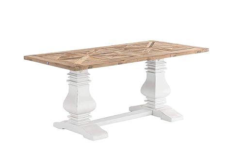 Tavolo Da Pranzo Shabby Chic : Clp legno tavolo per sala da pranzo taboa fatto a mano stile