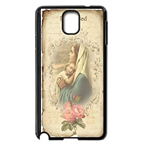 The virgin Mary and angel Hard Plastic phone Case Cover+Free keys stand For Samsung Galaxy NOTE4 Case Cover ZDI042735