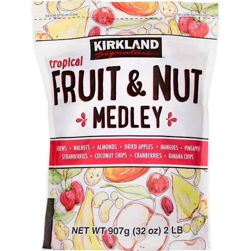 Foods Fruit Medley (Kirkland Signature Tropical Fruit & Nut Medley)