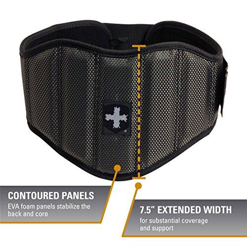 Harbinger Men's Firm Fit 7.5-Inch Contoured Weightlifting Belt, X-Large