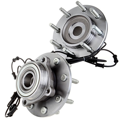 ECCPP Replacement fit for Pair Of 2 Front Wheel Hub Bearing Assembly 06 07 08 Dodge Ram 2500 3500 1500 4WD 4X4