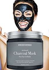 Smooth. Soft. Supple. Pure Body Naturals Activated Charcoal Mask is a perfect face mask to give the look of boosted hydration, deep purification and intensive toning. The activated charcoal face mask deters and removes any unwanted toxins, ch...