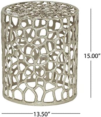 Alice Modern Iron Mesh Accent Table