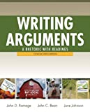 Writing Arguements : A Rhetoric with Readings, Concise Edition with New Mycomplab Student Access Code Card, Ramage, John D. and Bean, John C., 032184615X