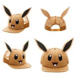 Pokemon Eevee Big Face Trucker Baseball Snapback Hat With Ears