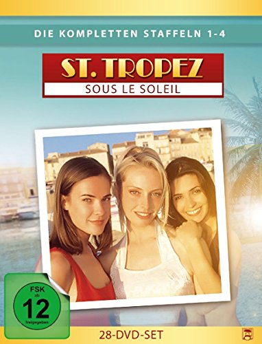 St. Tropez - Sous le Soleil, Die kompletten Staffeln 1-4 (28 Discs) [Alemania] [DVD]