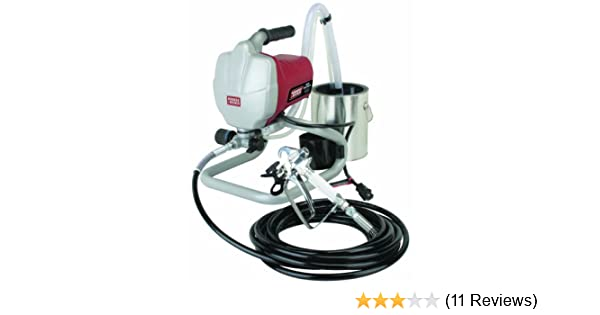 Airless Paint Sprayer Kit Krause & Becker. It Is 5/8 Horsepower. Made From Lightweight Stainless Steel Metal. Easy Cleaning and Durable.