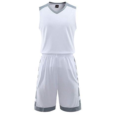 GJFENG Sportswear Uniforme De Baloncesto para Hombre Traje ...