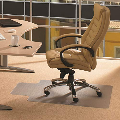 (Cleartex Advantagemat, PVC Clear Chair Mat, for Plush Pile Carpets (over 3/4