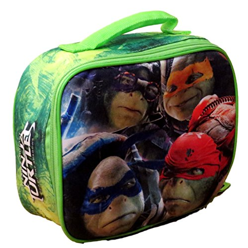"""TMNT Ninja Turtles Movie """"Out of the Shadows"""" Insulated Lunch Bag - Lunch Box"""