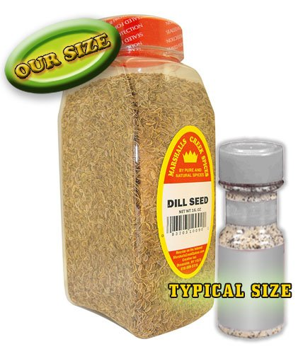 Marshalls Creek Spices Seasoning, Dill Seed, XL Size, 20 Ounce