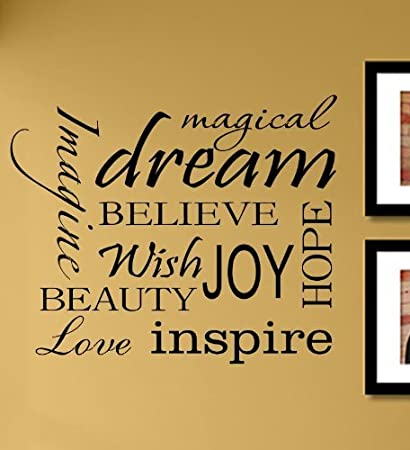 Amazon.com: Magical dream imagine believe wish joy hope beauty love ...