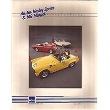 Austin Healey Sprite & MG Midget Parts Catalog