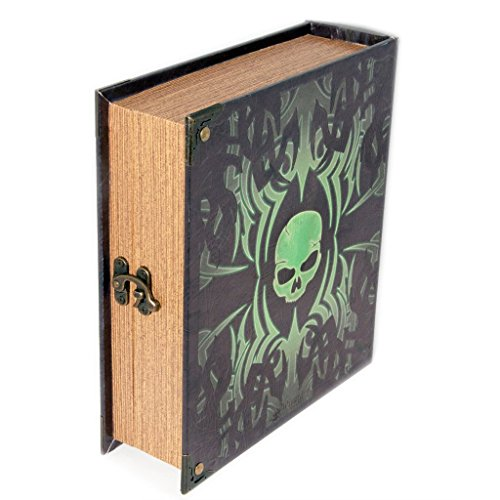 Deathrite Grimoire Pro Tour Box Spellbook Wooden Fabric Lined Magic MTG YuGiOh