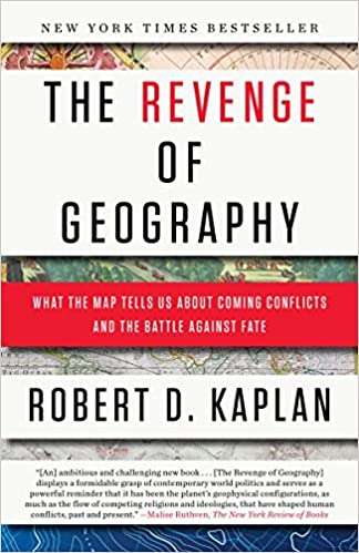 The Revenge of Geography  What the Map Tells Us about Coming Conflicts and  the Battle Against Fate (Inglês) Capa Comum – 9 set 2013 952d0d5086530