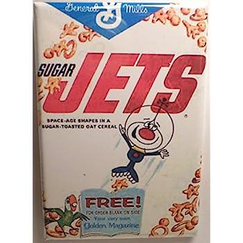 Amazoncom Sugar Jets Vintage Cereal Box 2 X 3 Magnet