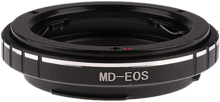MD-EOS Adaptador de Objetivo Compatible con Objetivo Minolta MD a Anillo de c/ámara Canon EOS