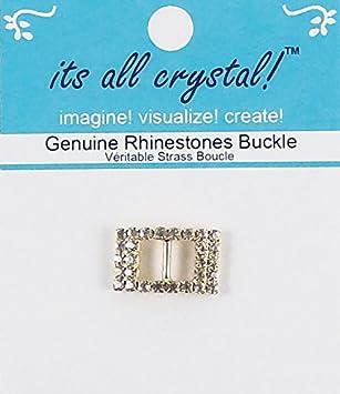 Sew On Buckles Notions 1PC Rhinestone Buckles Sliders