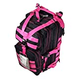 19″ 2400cu.in. Tactical Hunting Camping Hiking Backpack ML118 HBKPK (Pink)