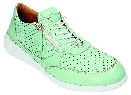 Femme à Vert tilleul vert Lacets Ville Miccos de Vert Tilleul Chaussures Pour qPp0n7Yw