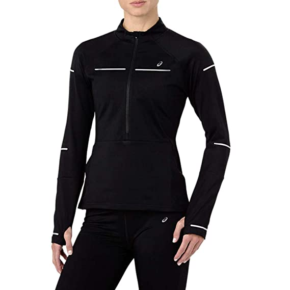 48d4c13182dd Asics Lite-Show Winter Long Sleeve 1/2 Zip Women's Running Top - SS19