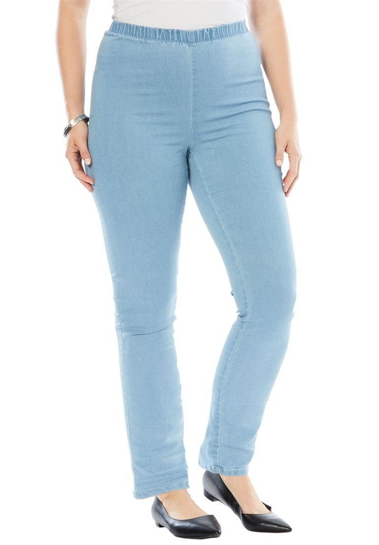 Women's Plus Size Stretch Bootcut Pull-On Pant