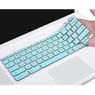 "Acer Chromebook 15 Keyboard Cover, Ultra Thin Anti Dust Keyboard Skin for 15.6"" Acer Chromebook 15 CB3-531 CB3-532 CB5-571 C910 Chromebook US Layout, Mint Green"