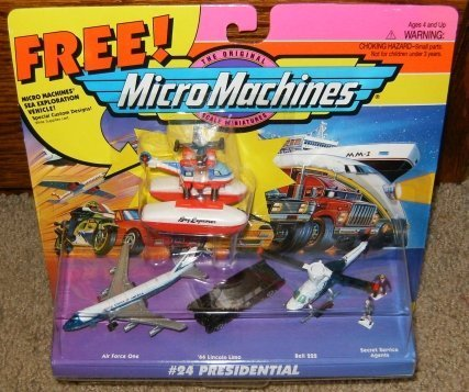 Micro Machines Presidential Vehicles #24 Collection
