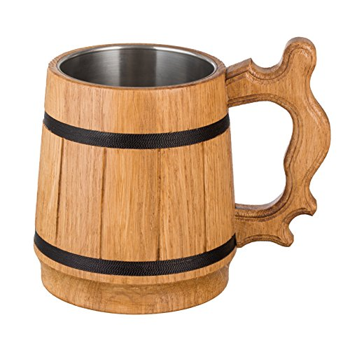 wooden beer cup - 8