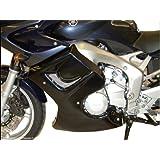 Carenado inferior para Yamaha FZ-604-06, color negro