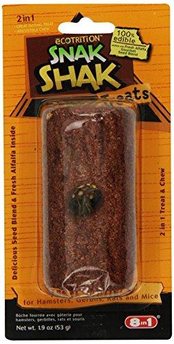(Ecotrition Snak Shak Treat Stuffer For Hamster/Gerbil)