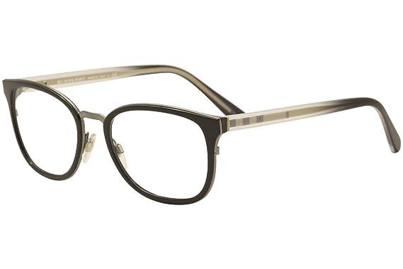 aebc7a519a23 Amazon.com  Burberry Men s BE2256 Eyeglasses Black 53mm  Clothing