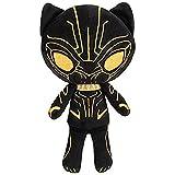 Funko Erik Killmonger Hero Plushies x Black Panther Plush + 1 Official Marvel Trading Card Bundle
