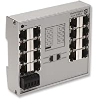 Harting, 24020160010, Ha-VIS eCon 2160B-A - unmanage switch with 16 RJ45